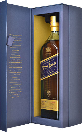 Johnnie Walker Blue Label box